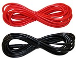 AEMC Instruments 2140.58 Lead - Set of 2, Color-coded 10 ft (3m) (red/black) {Rated 600V Cat IV, 15A} Replacement set for Cat. #2140.31