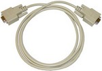 AEMC Instruments 2119.46 Cable PC RS-232, DB9 F/F 6 ft (for use with serial printer only)