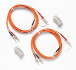 Fluke Networks NFK1-DPLX-LC DUPLEX MM 62.5 UM TEST REFERENCE CORDS FOR LC ADAPTER - SET OF 2