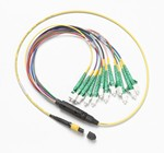 Fluke Networks SBKC-MPOAPCU-LCAP 1 M BREAKOUT CORD FOR SM MPOAPC UNPINNED LCAPC CONNECTOR