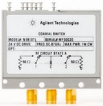 Keysight Technologies Inc. N1810TL Coaxial switch, SPDT terminated latching with current interrupt