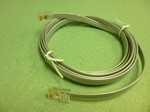 TesCom CABL-21 RJ-48 to RJ-48 Straight Through Cable, 7-ft., Halcyon Test Set